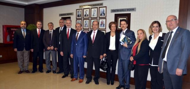 Vergi Dairesi Başkanı Nazmi Erol İTSO'da
