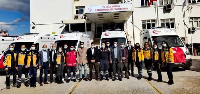 Yeni Ambulanslar Emin Ellerde