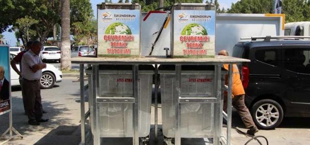 Yer Altı Çöp Konteyneri Projesinin İlk Etabı Tamamlandı