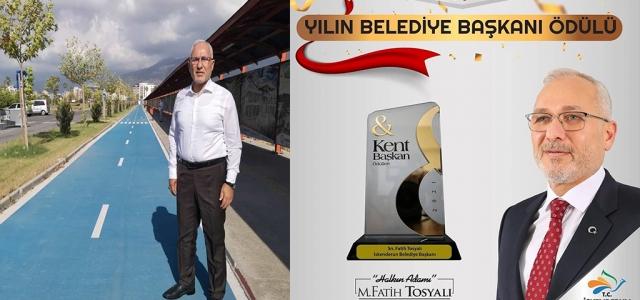 Yılın Belediye Başkanı; Fatih Tosyalı