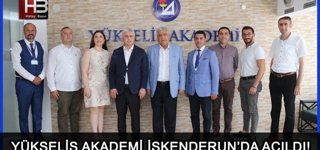 Yükseliş Akademi İskenderun'da Açıldı!