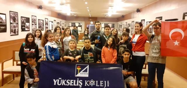 Yükseliş Koleji Öğrencileri Samsun'da