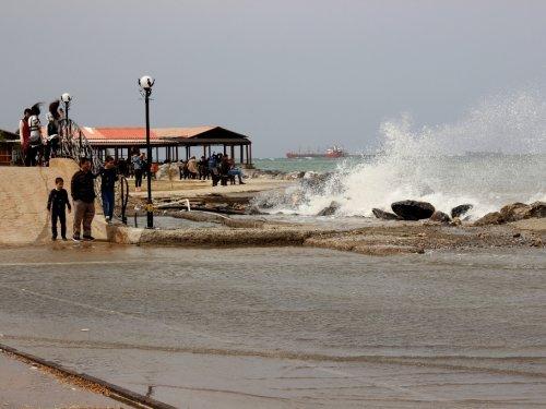 Fırtına Denizi Taşırdı