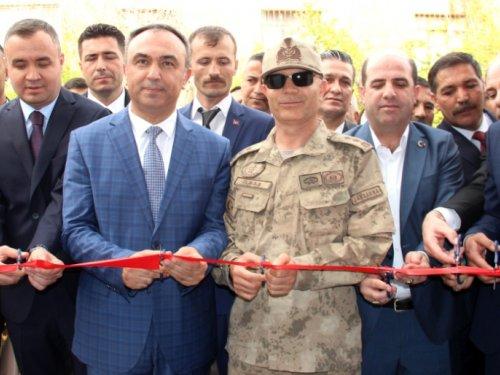 Hatay Güvenlik Korucuları Şehit ve Gazi Aileleri Derneği İskenderun'da açıldı